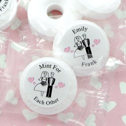 Personalized Wedding Life Savers