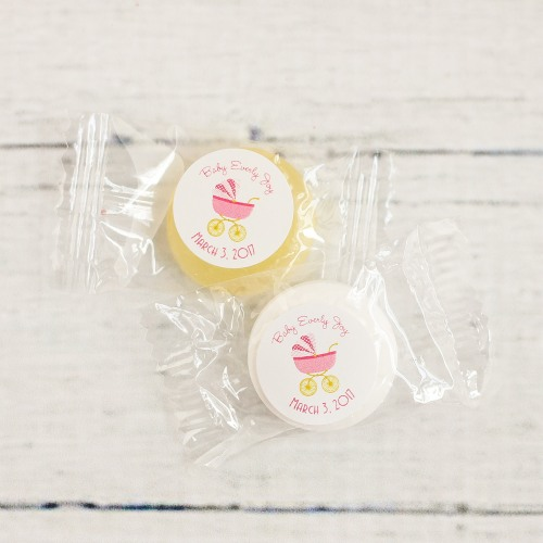 Personalized Carriage Life Saver Candies