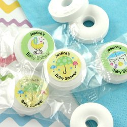 Personalized Baby Shower Life Saver Candies