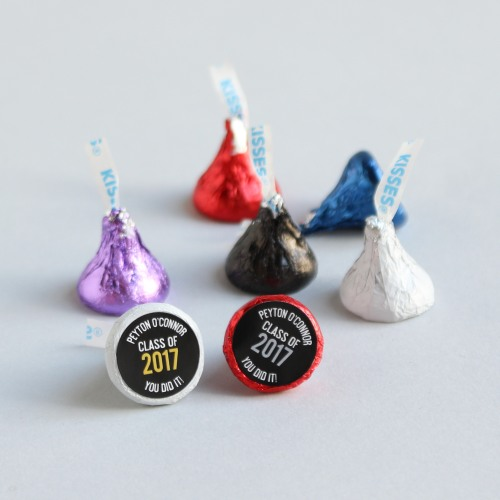 Personalized Graduation Party Hershey's Kisses