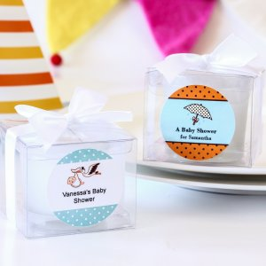 Personalized Baby Shower Candles