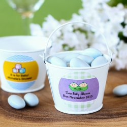 Personalized Baby Shower Pails