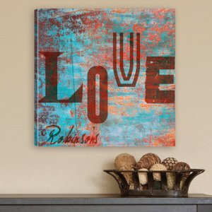 Personalized Canvas Print