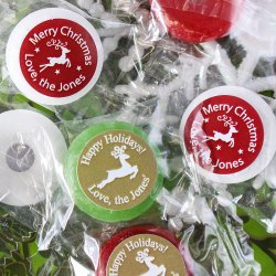 Personalized Holiday Life Savers