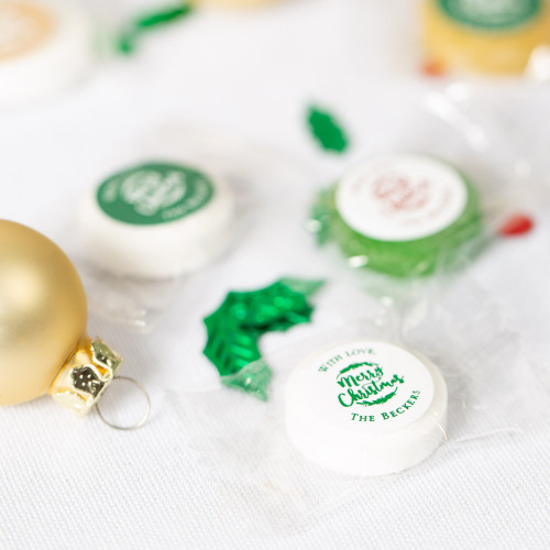 Personalized Happy Holiday's Life Savers