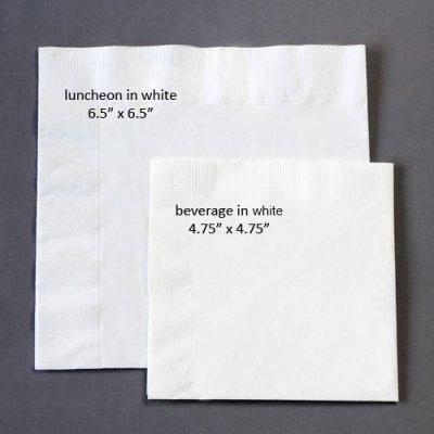napkin sizes