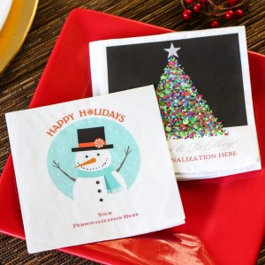 Personalized Full Color Print Party Napkin