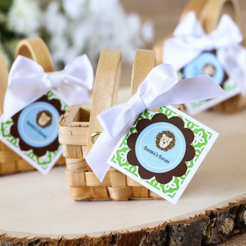 Personalized Birthday Themed Favor Tags