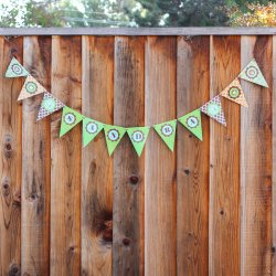 Personalized Birthday Themed Banner