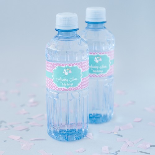 Personalized Baby Water Bottle Labels