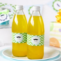 Personalized Baby Shower Themed Water Bottle Labels