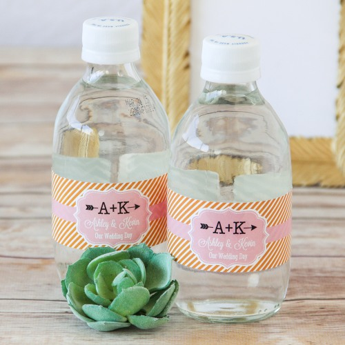 Personalized Bridal Themed Water Bottle Labels