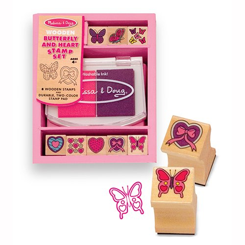 Butterfly and Hearts Stamp Set