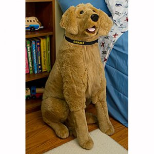 Personalized Giant Dog Stuffed Animal