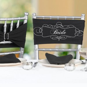Bridal Party Chair Sash