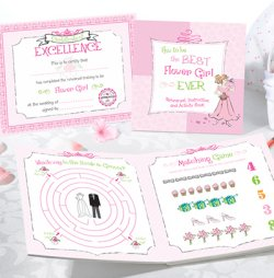 Flower Girl and Ring Bearer Activity Set