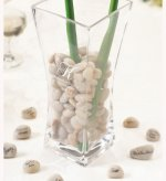 Personalized Vase with Guest Signing Stones