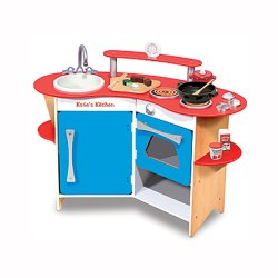 Personalized Wooden Play Kitchen
