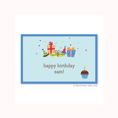 Personalized Disposable Birthday Placemats