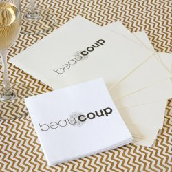 Personalized Full Color Corporate Logo Napkin