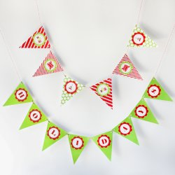 Personalized Holiday Themed Banner