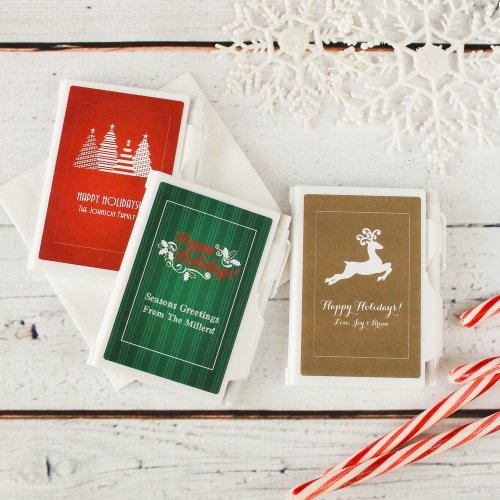 Personalized Christmas Notebook Favors