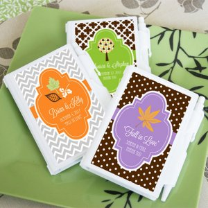 Personalized Holiday Notebook Favors