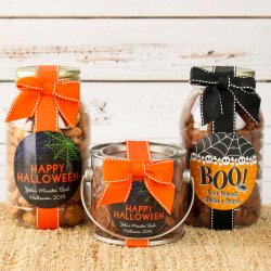 Personalized Holiday Cookie Gift Jars