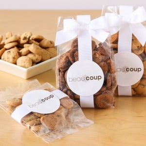 Corporate Logo Cookie Favor Bags