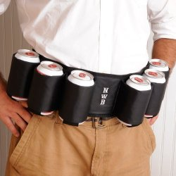 Personalized Beer Belt