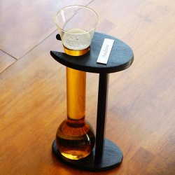 Personalized Half Yard 32 Oz Ale Glass with Stand
