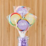 Personalized Kids Birthday Lollipop Favors