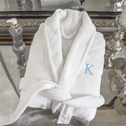 Personalized Plush Spa Robe