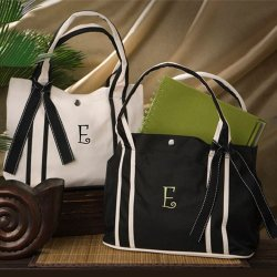 Monogram Roman Holiday Tote