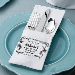 Personalized Silverware Holders