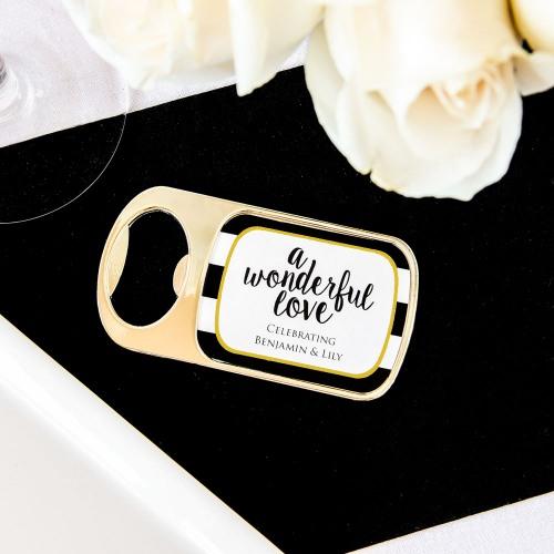 Personalized Wonderful Love Bottle Opener