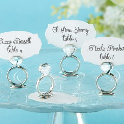 Ring Place Card/Photo Holder