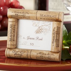 Wine Cork Place Card/Photo Frame