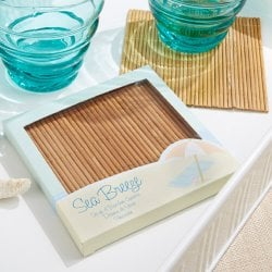 Sea Breeze Bamboo Coasters