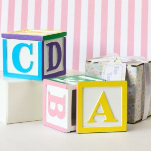 Baby Block Trinket Box