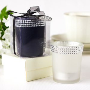 Rhinestone Votive Candle Holder