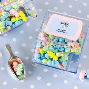 Personalized Baby Candy Bin and Scoop Favor