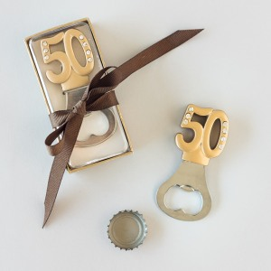 50th Birthday Bottle Opener