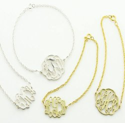 Petite Monogram Filigree Bracelet