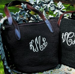 Personalized Crochet Handbag