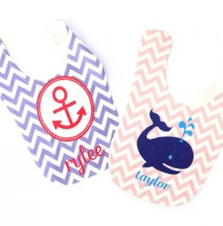 Personalized Themed Baby Bib