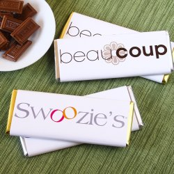 Corporate Logo Chocolate Bar