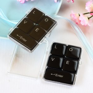 """Love"" Keyboard Magnets"