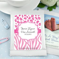 Personalized Baby Shower Hot Cocoa Favors