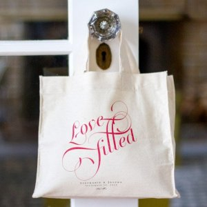 "Personalized ""Love-Filled"" Tote Bag"